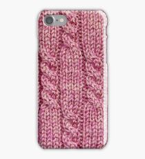 Background of textile texture iPhone Case/Skin