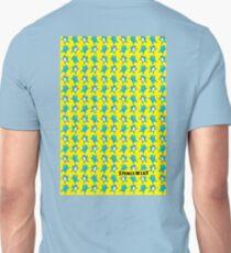 Sharky Tile - Yellow/Blue T-Shirt