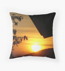 Fiesole Sunset Throw Pillow