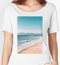 Beach Shore Women's Relaxed Fit T-Shirt