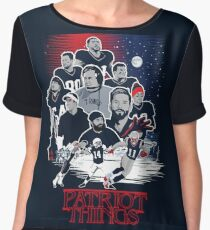 Patriot Things Women's Chiffon Top