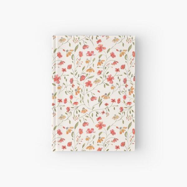 Vintage floral print Hardcover Journal
