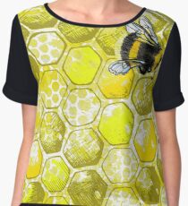 Bumble bee  Women's Chiffon Top