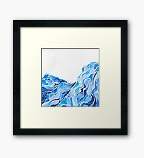 Blue Hills I Framed Print