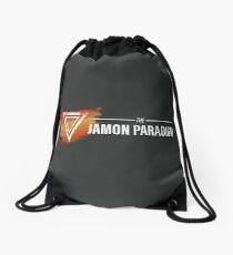 Jamon Long Logo Drawstring Bag