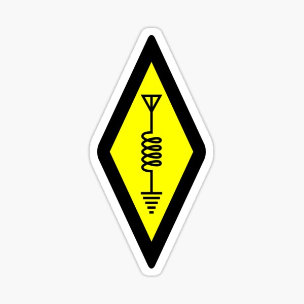 International Symbol of Amateur Radio Sticker