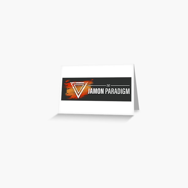 Jamon Long Logo Greeting Card