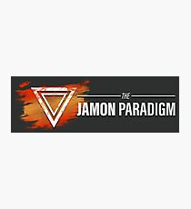 Jamon Long Logo Photographic Print