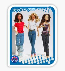 Angels in Jeans Sticker