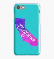 California - Purple Watercolor iPhone Case/Skin