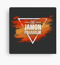 Jamon Paradigm Condensed Logo Canvas Print