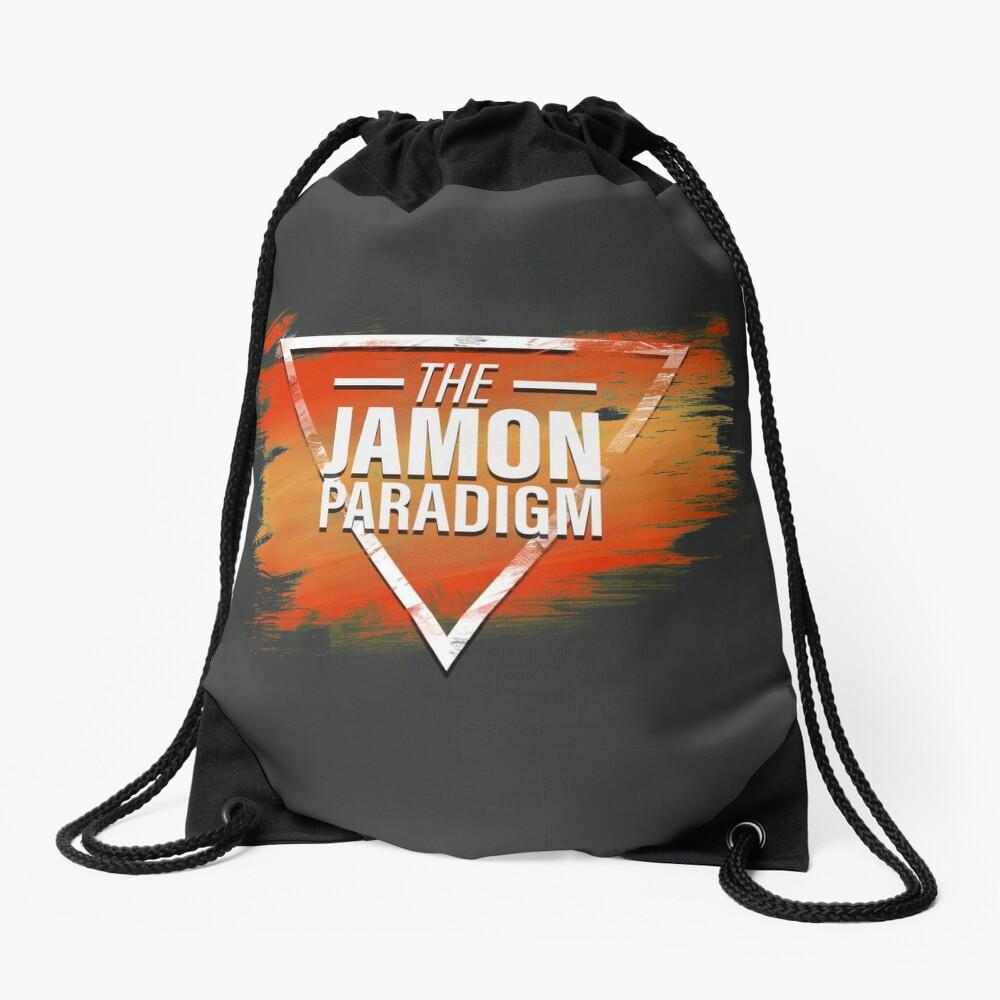Jamon Paradigm Condensed Logo Drawstring Bag