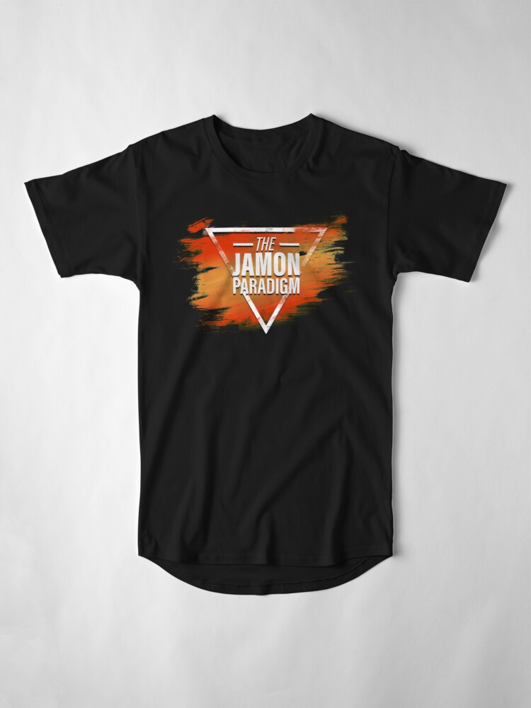 Alternate view of Jamon Paradigm Condensed Logo Long T-Shirt
