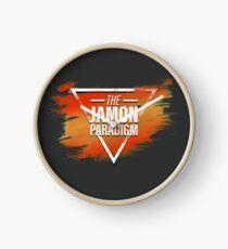Jamon Paradigm Condensed Logo Clock