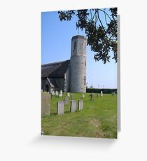 St Mary's West Sommerton Norfolk UK May 2008 Greeting Card