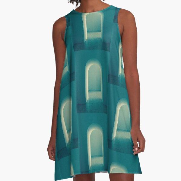 Luminous Doorway Multiple A-Line Dress
