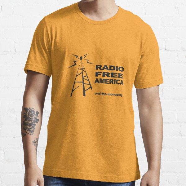 RADIO FREE AMERICA Essential T-Shirt