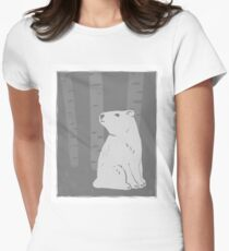Bear with me Women's Fitted T-Shirt