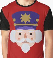Nutcracker - Minimalist Portrait Graphic T-Shirt