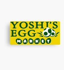 Egg Market Canvas Print