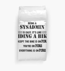 Being a SysAdmin Duvet Cover