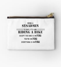 Being a SysAdmin Studio Pouch