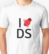 I love data science Unisex T-Shirt