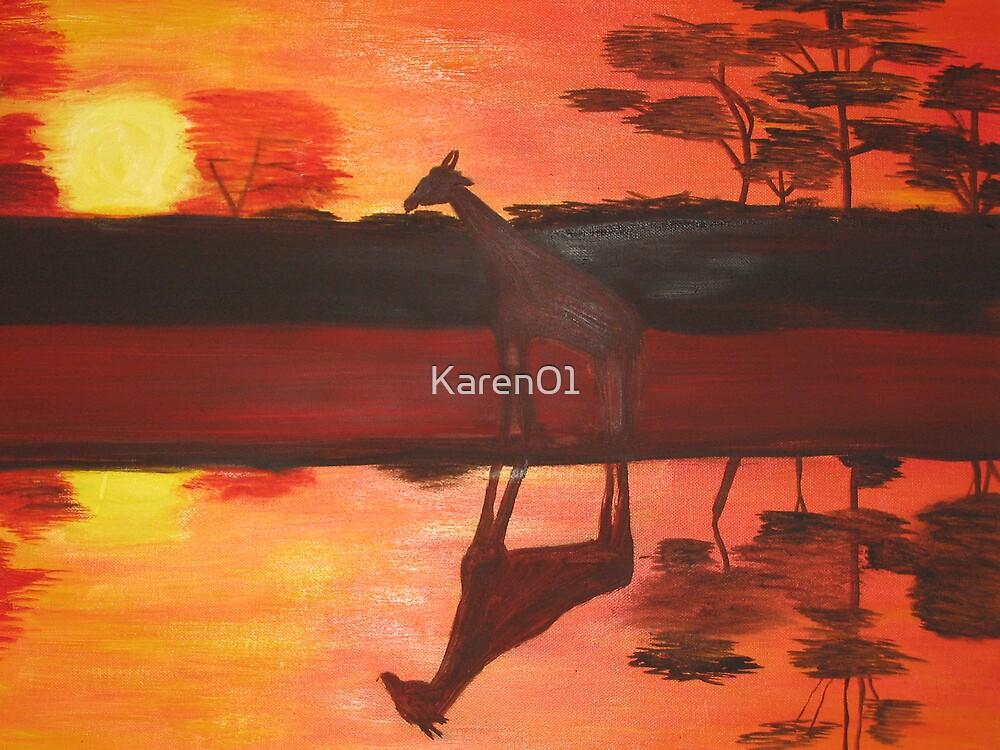 Reflective reprieve by Karen01