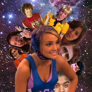 Zoey 101 - Character Collage by ShirtWizard