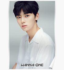 WANNA ONE HWANG MINHYUN Poster