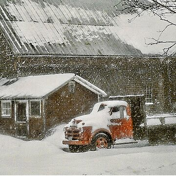 Snow-Bound - Bridgton, Maine by rural-guy