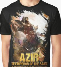 League of Legends AZIR - [The Emperor Of The Sand] Graphic T-Shirt