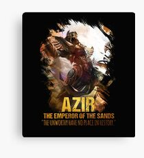 League of Legends AZIR - [The Emperor Of The Sand] Canvas Print