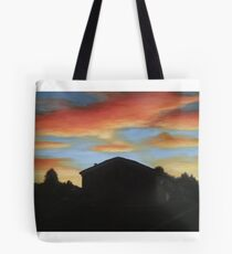 Sunset on the Street Tote Bag
