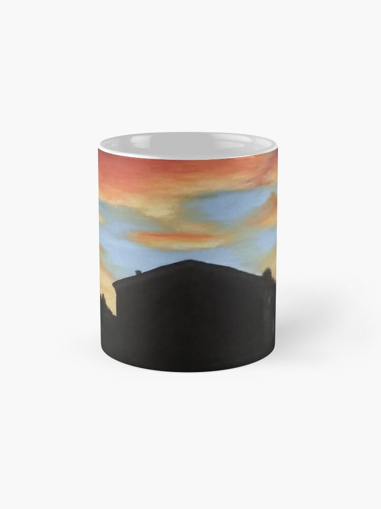 Alternate view of Sunset on the Street Mug