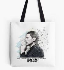 prison break - Wentworth Miller - I Persist Tote Bag