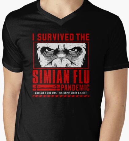 I Survived the Simian Flu Pandemic T-Shirt