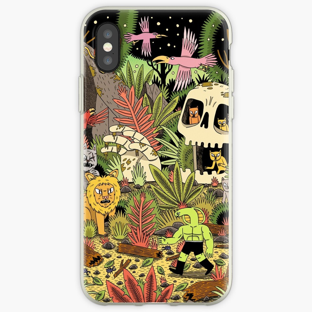 The Jungle iPhone Case & Cover