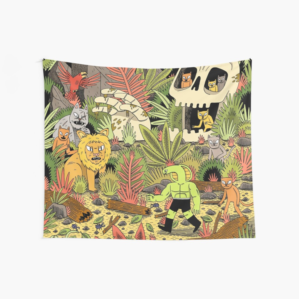 The Jungle Wall Tapestry