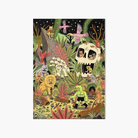 The Jungle Art Board Print