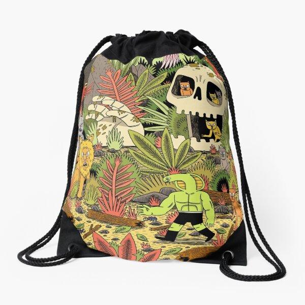 The Jungle Drawstring Bag