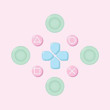 Button Masher Pastel by AlexMathews
