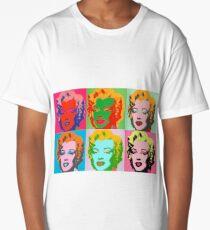 Andy Warhol Monroe Long T-Shirt