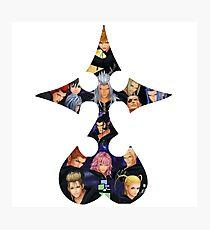 Organization XIII Kingdom Hearts Photographic Print