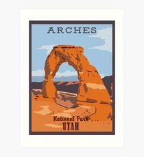 Arches National Park Art Print