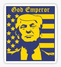 Trump - God Emperor Sticker