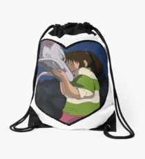 Chihiro & Haku Drawstring Bag