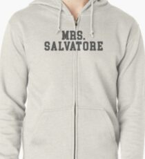 Mrs. Salvatore - The Vampire Diaries - The Originals Zipped Hoodie