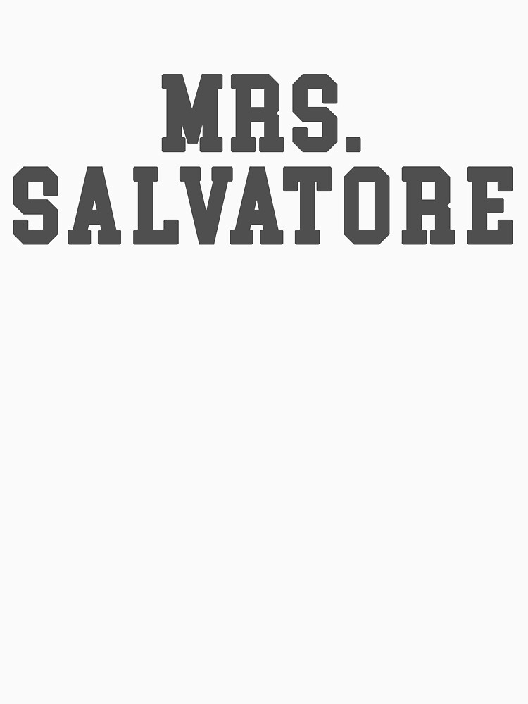 Mrs. Salvatore - The Vampire Diaries - The Originals by shipwithme