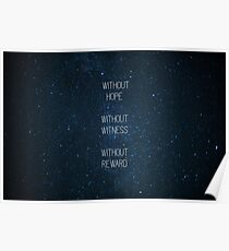 Without Hope Without Witness Without Reward Poster